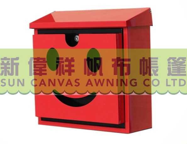 JHC-2060C-R,W_有鎖笑面信箱(紅色),(白色)3